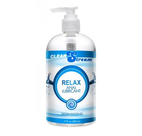 Clean Stream Relax Desensitizing Anal Lube, 17 oz.
