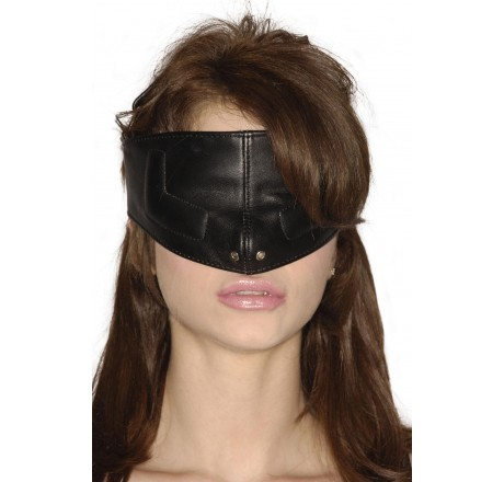Strict Leather Upper Face Mask-SM