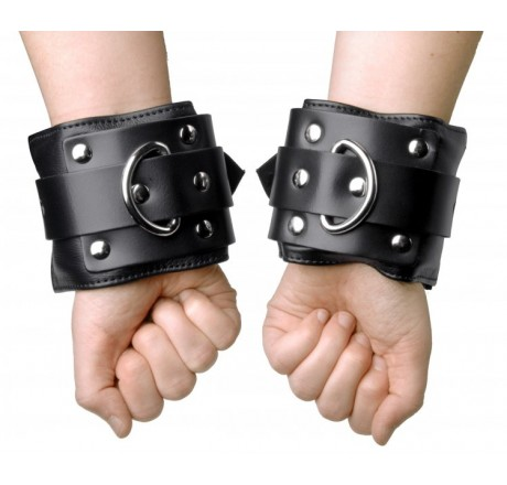 Deluxe Locking Wide Padded Cuffs