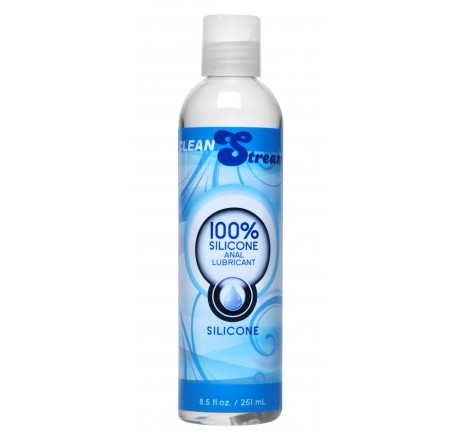 CleanStream 100 Percent Silicone Anal Lubricant - 8.5 oz