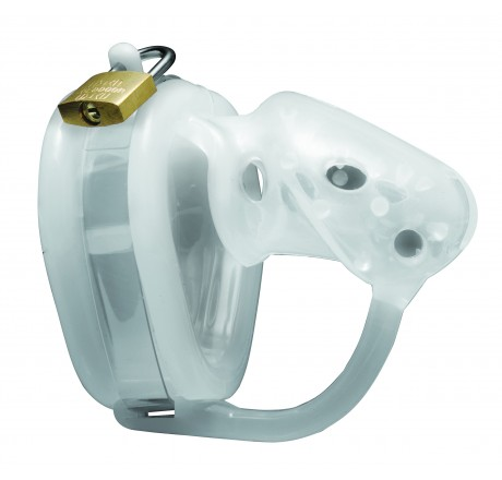 Sados Spiked Chamber Silicone Male Chastity Device