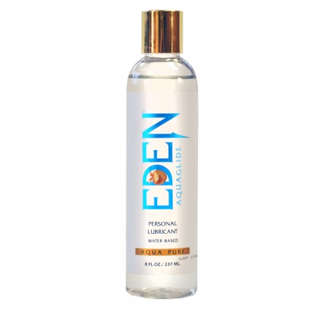 Eden Aqua Pure 8oz Water Based Lubricant