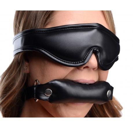 Padded Blindfold and Gag Set