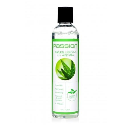 Natural Lubricant with Aloe Vera - 8oz