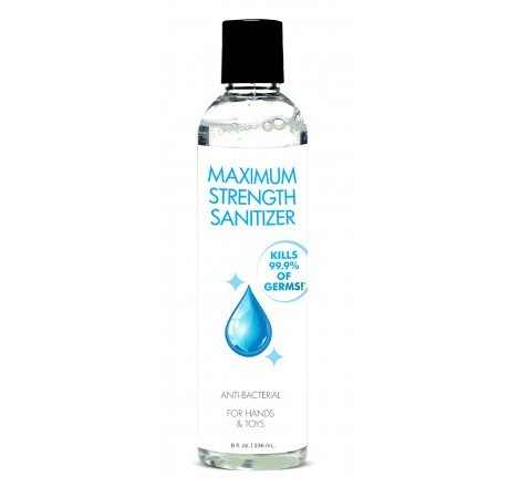 Anti-Bacterial Maximum Strength Hand Sanitizer - 8oz