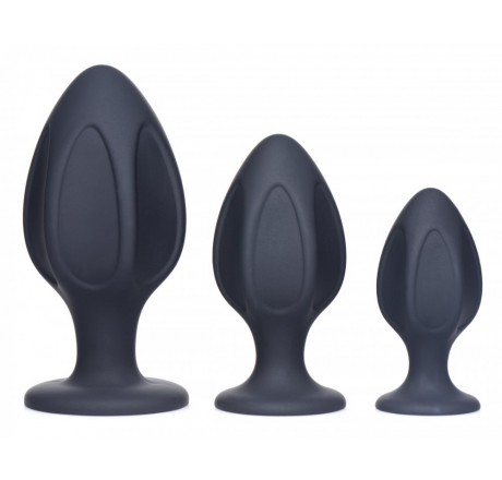 Triple Juicers Silicone Anal Trainer Set