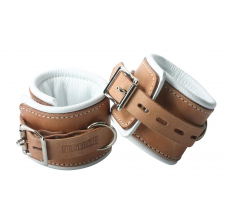 Strict Leather Padded Hospital Style Restraints- Wrist