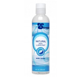 CleanStream Water-Based Anal Lube, 8 oz.
