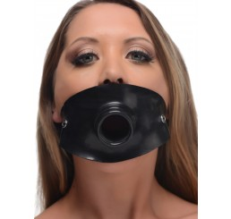 Rubber Open Mouth Piss Gag