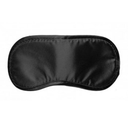 Le Boheme Satin Blindfold - Black