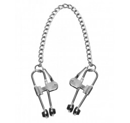 Intensity Nipple Press Clamps with Chain