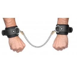 Neoprene Buckle Cuffs with Locking Chain Kit