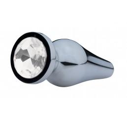 Lucent Bejeweled Aluminum Anal Plug