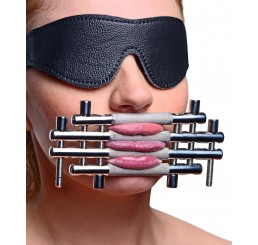Stainless Steel Lips and Tongue Press