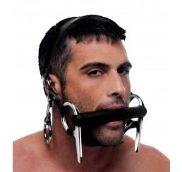 Steed Silicone Bit and Bridle Head Harness
