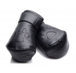 Strict Leather Padded Puppy Mitts