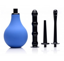 Premium One-way Valve Anal Douche Set