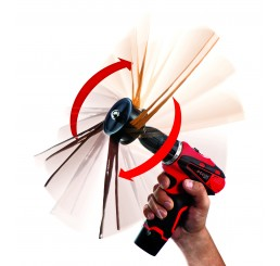 Auto Flogger Whip Attachment for Drills