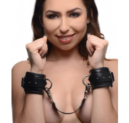 PU Leather Lined Cuffs - Wrist