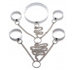 5 Piece Stainless Steel Shackle Set - Small