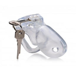 Clear Captor Chastity Cage - Large