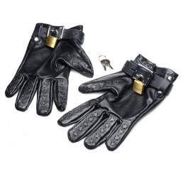 Locking Vampire Gloves