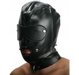 Strict Leather Premium Locking Slave Hood- Large