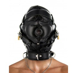 Strict Leather Sensory Deprivation Hood- ML